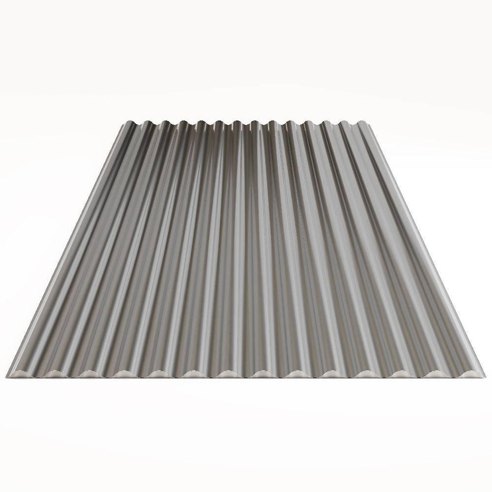 Гофрированный лист (гофролист) 0,45 мм, 1200х2500 мм