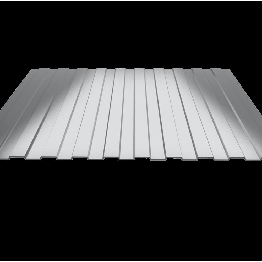 Оцинкованный профнастил С8 2500х1200, 0.4мм